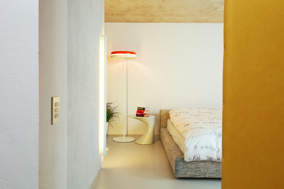 studio db ai interior U bedroom design