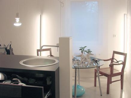 studio db ai labyrinth apartment architecture kitchen design