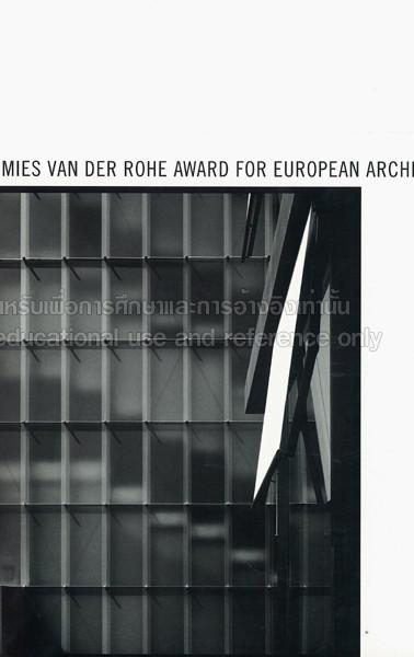 Dominika Batista PhD Publications Mies van der Rohe award