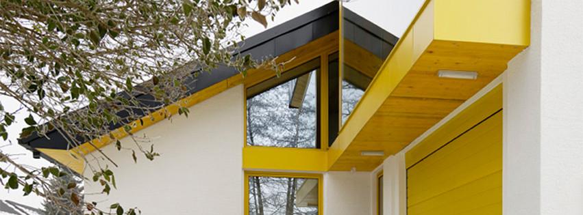 studio db ai luxury house atrium facade design