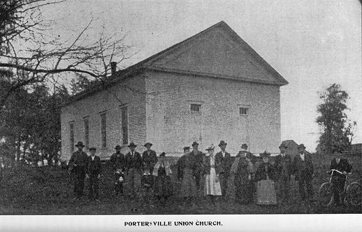 Portersville Union Church Portersville Indiana