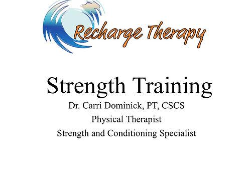 Strength Training DVD