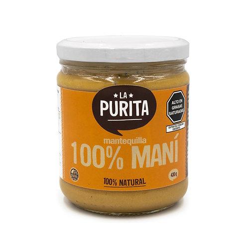 Mantequilla 100% Mani 430 grs