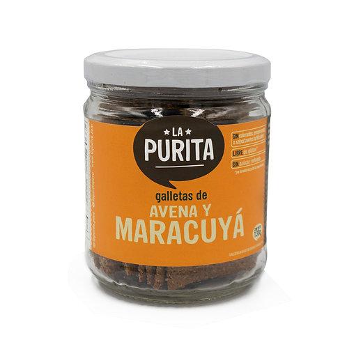 FR MCYA - Galletas de Avena y Maracuya 130 grs
