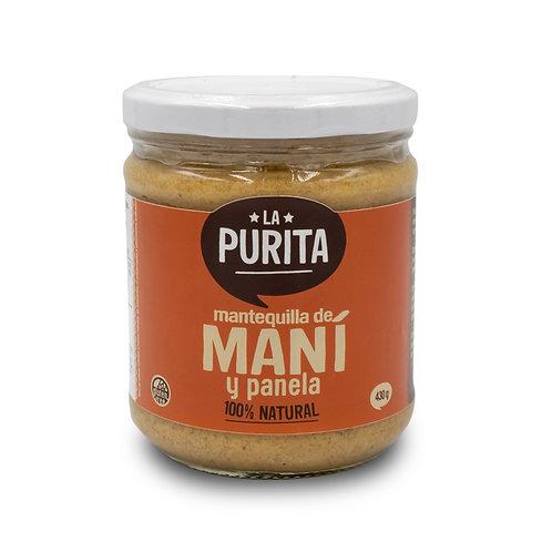 FR MPAN - Mantequilla de Mani y Panela 430 grs