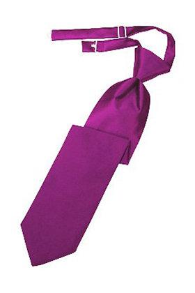 Fuschia Long Tie