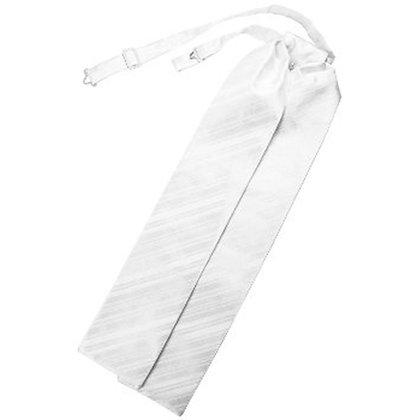 White Striped Ascot
