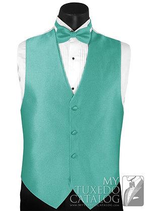 Seamist Sterling Vest, Bow Tie & Pocket Square Set