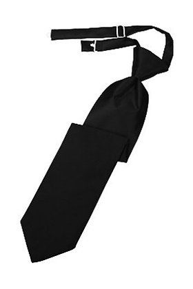 Black Long Tie