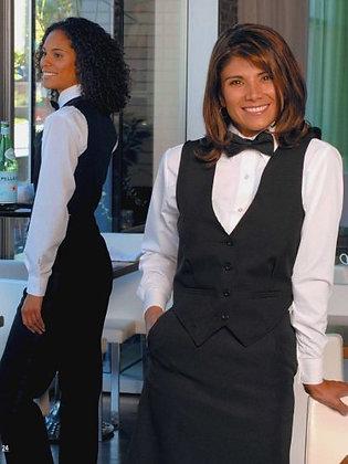 Ladies Black Polyester Vest