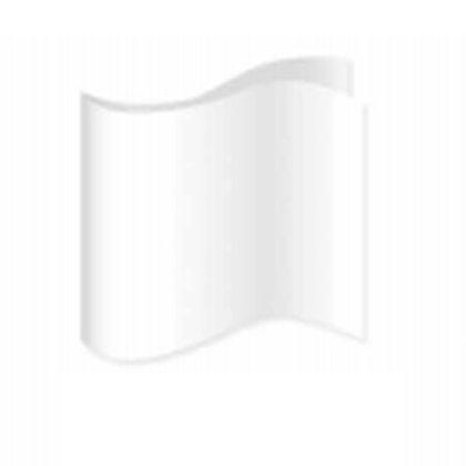 White Satin Pocket Square