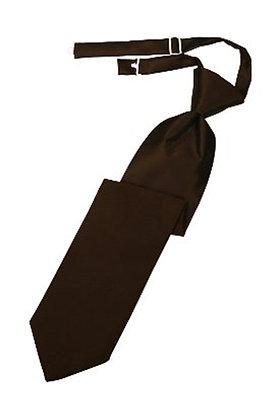 Chocolate Long Tie