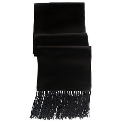 Black Formal Scarf