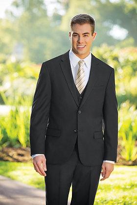 Slim Fit Black 3-Piece Nested Suit