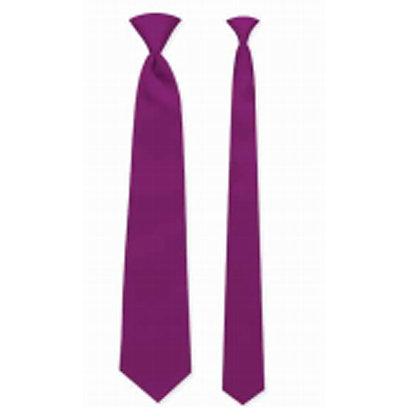 Berry Satin Windsor Tie