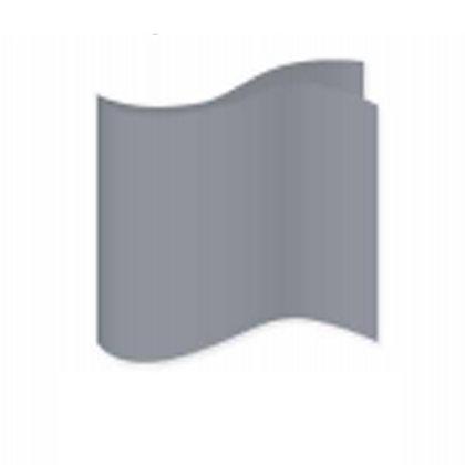 Silver Satin Pocket Square