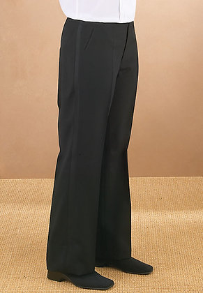 Plain Front Trousers (Poly)
