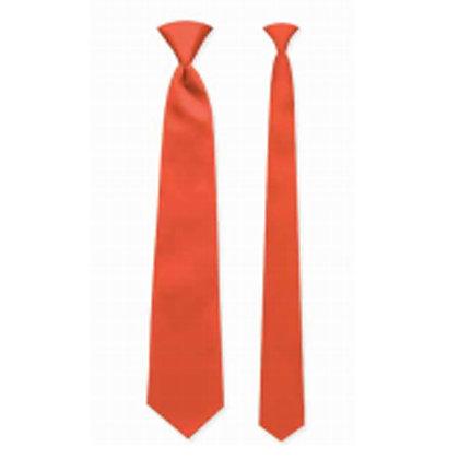 Coral Satin Windsor Tie