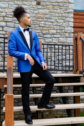 Cosmo Blue Check Coat