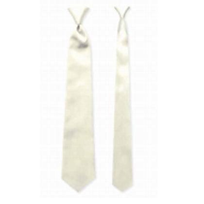 Ivory Satin Windsor Tie