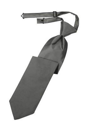Charcoal Long Tie