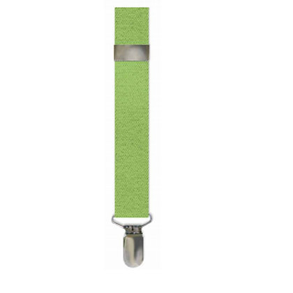 Lime Solid Suspenders