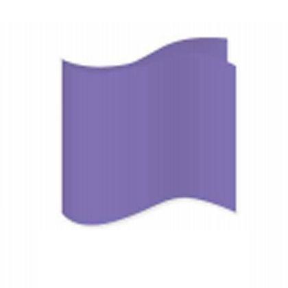 Purple Satin Pocket Square