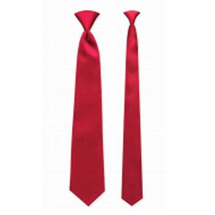 Red Satin Windsor Tie