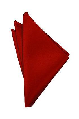 Scarlet Pocket Square