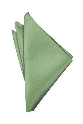 Sage Pocket Square