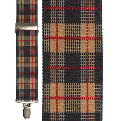 Beige Scottish Plaid