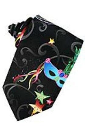 Mardis Gras Long Tie (Self-Tie)