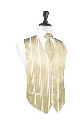 Striped Satin Bamboo Vest