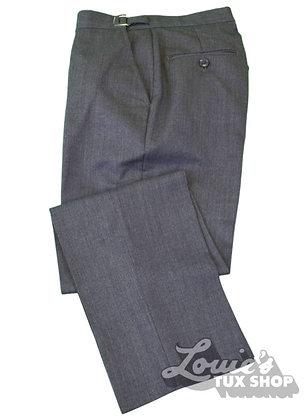 Steel Grey Tuxedo Pant