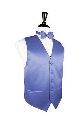 Satin Cornflower Vest