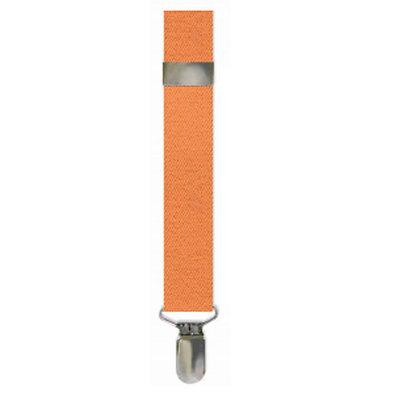 Tangerine Solid Suspenders