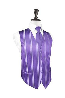 Striped Satin Freesia Vest