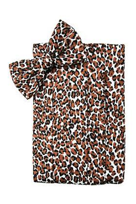 Leopard Cummerbund
