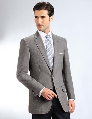 Grey 2B Traditional Blazer