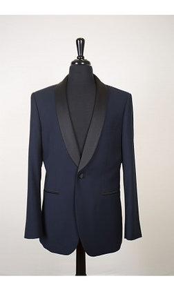 'Bradford' Navy Tuxedo Jacket
