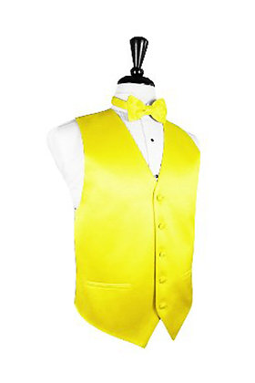 Satin Lemon Vest