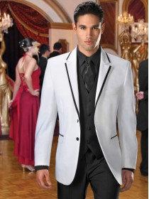 White Savoy Tuxedo Coat