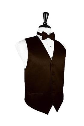 Satin Chocolate Vest