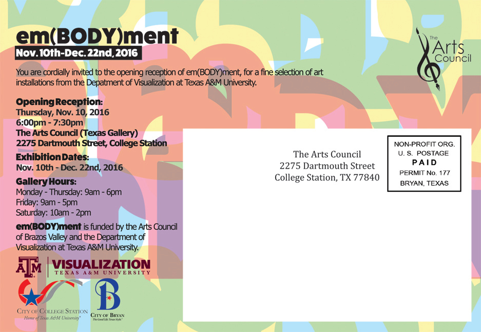 emBODYment Post Card Back
