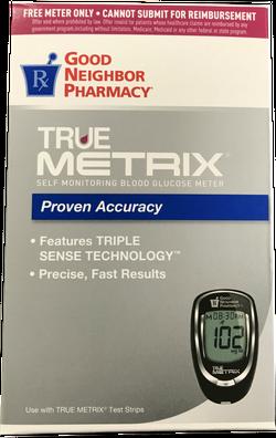 Self Monitoring Blood Glucose Meter Box