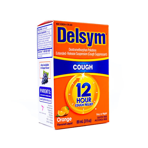 Delsym 12 Hour Cough angle view