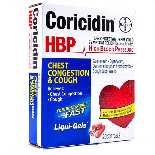 Coricidin HBP Chest Congestion & Cough angle view
