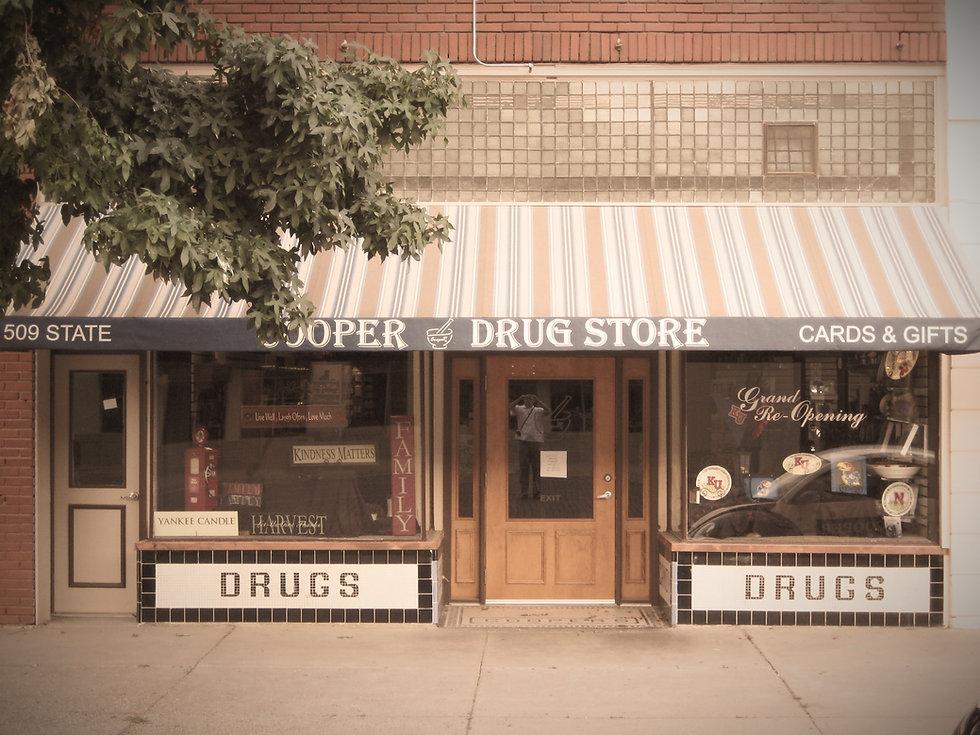 Cooper Drug Store storefront