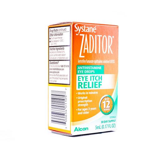 Zaditor Antihistamine Eye Drops Angle View