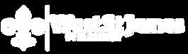 West St. James Pharmacy white logo